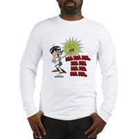 Mandark Ha Ha Ha Ha! Long Sleeve T-Shirt