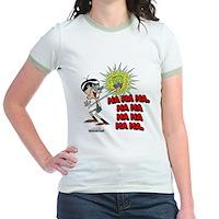 Mandark Ha Ha Ha Ha! Jr. Ringer T-Shirt
