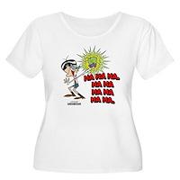 Mandark Ha Ha Ha Ha! Women's Plus Size Scoop Neck