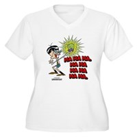 Mandark Ha Ha Ha Ha! Women's Plus Size V-Neck T-Sh