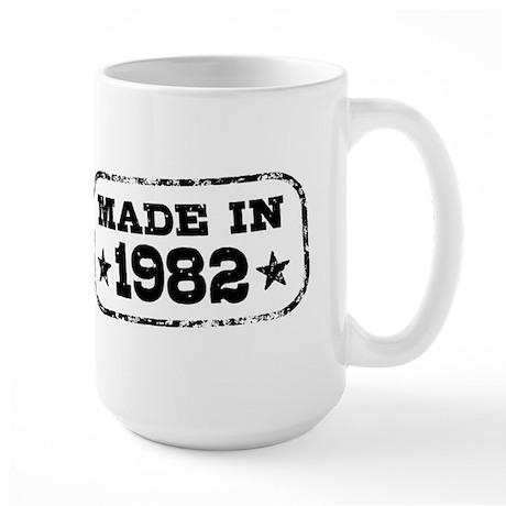Made In 1982 Large Mug