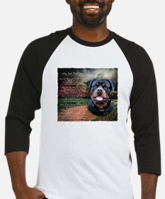 """Why God Made Dogs"" Rottweiler Baseball Jersey"