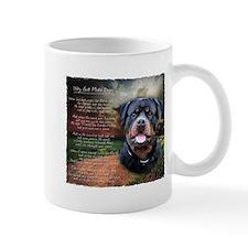 """Why God Made Dogs"" Rottweiler Mug"