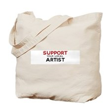 Support:  ARTIST Tote Bag