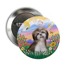 "Guardian-ShihTzu#2 2.25"" Button (100 pack)"