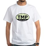 TMP Rugby Oval White T-Shirt