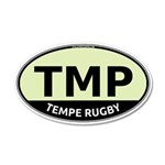 TMP Rugby Oval 22x14 Oval Wall Peel