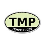 TMP Rugby Oval 38.5 x 24.5 Oval Wall Peel