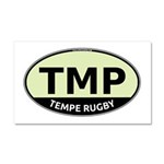 TMP Rugby Oval Car Magnet 20 x 12