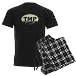 TMP Rugby Oval Men's Dark Pajamas