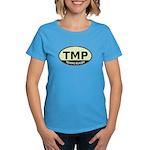 TMP Rugby Oval Women's Dark T-Shirt