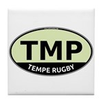 TMP Rugby Oval Tile Coaster