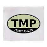 TMP Rugby Oval Throw Blanket