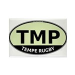 TMP Rugby Oval Rectangle Magnet