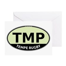 TMP Rugby Oval Greeting Card