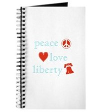 Peace, Love and Liberty Journal