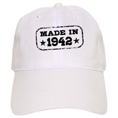 Made In 1942 Baseball Cap