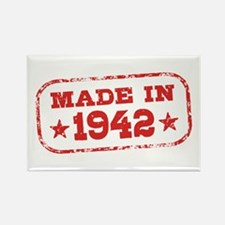 Made In 1942 Rectangle Magnet