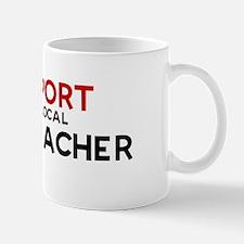 Support:  ART TEACHER Mug