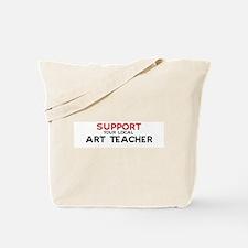 Support:  ART TEACHER Tote Bag