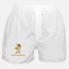 Let's Wrestle! Boxer Shorts