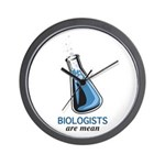 Biologists are Mean Wall Clock