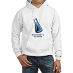 Biologists are Mean Hooded Sweatshirt