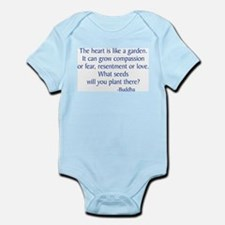 Buddha Quote Infant Bodysuit