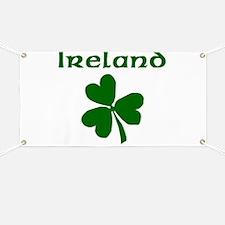 Ireland Clover Banner