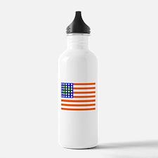 Irish American Flag Water Bottle