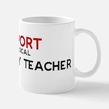 Support:  GEOGRAPHY TEACHER Mug