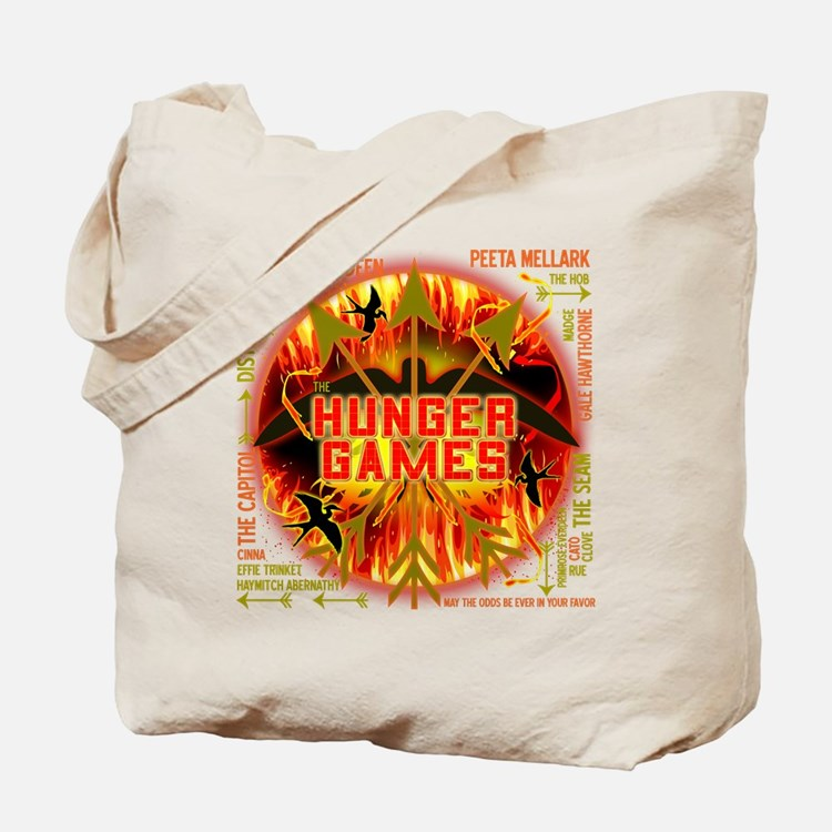Hunger Games Collective Tote Bag
