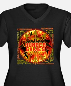 Hunger Games Collective Women's Plus Size V-Neck D
