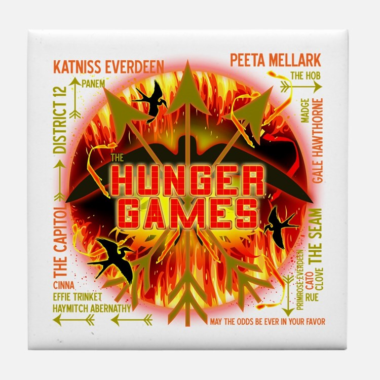 Hunger Games Collective Tile Coaster
