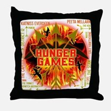 Hunger Games Collective Throw Pillow