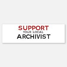 Support: ARCHIVIST Bumper Bumper Bumper Sticker