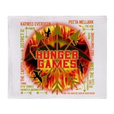 Hunger Games Collective Throw Blanket