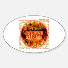 Hunger Games Collective Sticker (Oval)