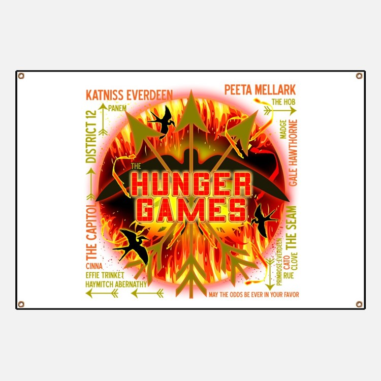 the world of the hunger games banners signs vinyl banners banner designs cafepress