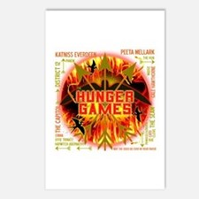 Hunger Games Collective Postcards (Package of 8)