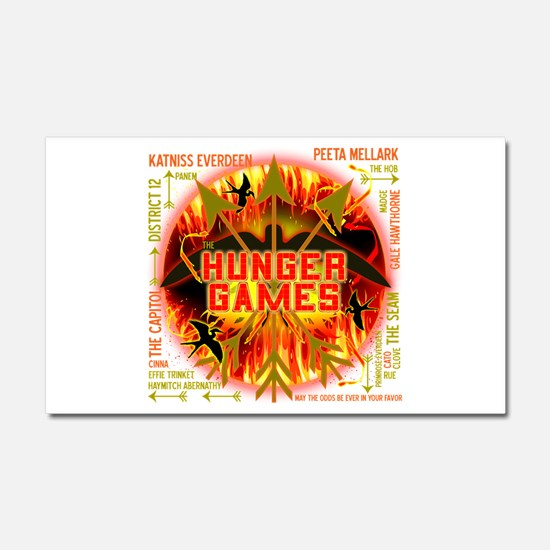 Hunger Games Collective Car Magnet 20 x 12
