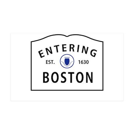 Boston 38.5 x 24.5 Wall Peel