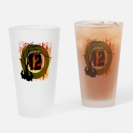 District 12 The Hunt Drinking Glass
