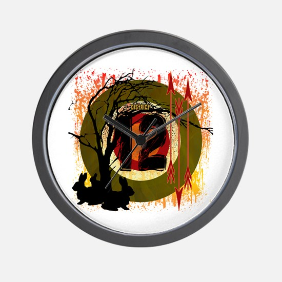 District 12 The Hunt Wall Clock
