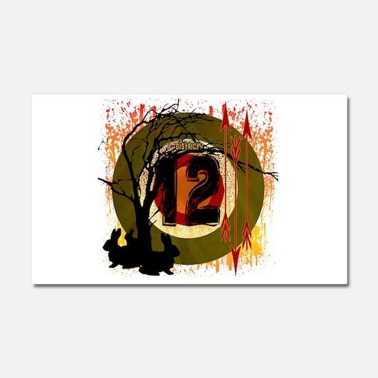 District 12 The Hunt Car Magnet 20 x 12