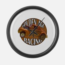 1941 Willys Gasser Large Wall Clock