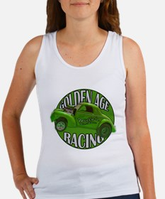 1941 Willys Gasser Lime Women's Tank Top