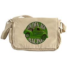 1941 Willys Gasser Lime Messenger Bag