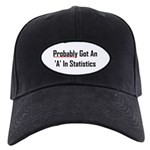 Probably An 'A' In Statistics Black Cap