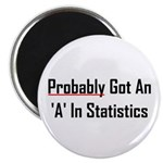 Probably An 'A' In Statistics Magnet